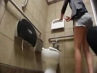 素人, バスルーム, カレッジ, 汚い, フィスティング, 小便, 小便, トイレ