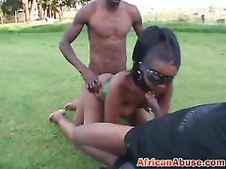 Bdsm  Hornyafrican Tenn Perkyd Hot Threesome