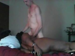 Ebony Sucks Cock