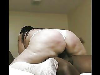 Whooty In White Blacked By Young Bbc