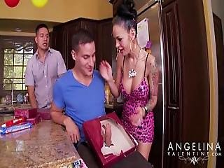 Angelina - Birthday Cock
