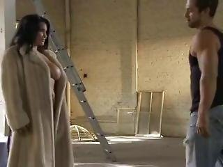 Sophia Lomeli Fucked Hard In Her Fur Coat