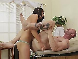 Sexy Tranny Banging Naughty Dude