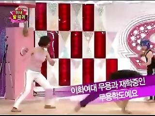 Korean Starking Karate Teakwondo Girl