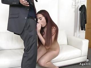 Redhead Amateur Model Sucks And Fucks