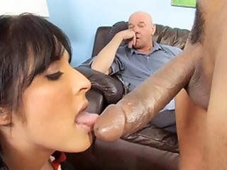 Erotic Has To Watch Her Daughter Chelsie Rae Fucks A Bbc