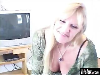 Nina Decided To Satisfy A Horny Guy By Drooling On His Big Dick