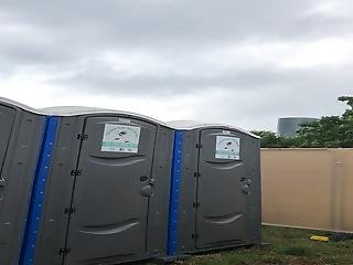 Women In Toilet