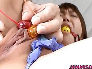 Kana Gaged And Made To Endure Anal Toy Porn
