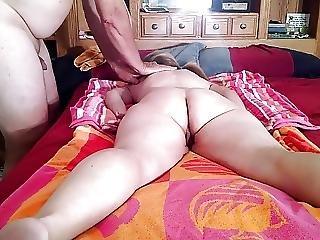 Lady J Gets A T A Coconut Oil Massage Part 1