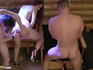 Group Sex At A Party In Kirov
