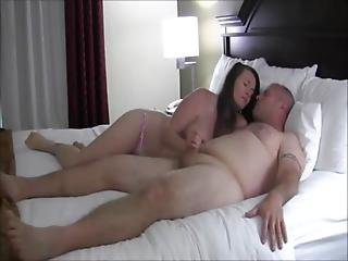 Amateur, Babe, Brunette, Couple, Fucking, Home, Homemade, Older Man, Pussy, Sex, Teen, Vaginal, Young