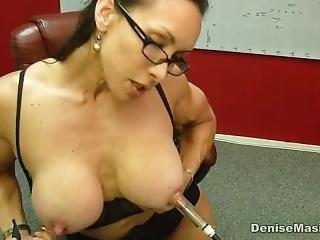 Denise Masino Momma Nipple Pumping Video