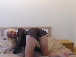 Sexysweetnastya Transparent Outfit Without Panty On Freechat 22-07-2017