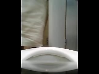 asiatisk, koreansk, spion, toalett