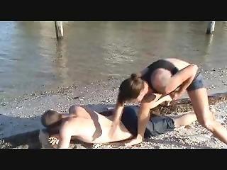 Cindy Shefights Beach
