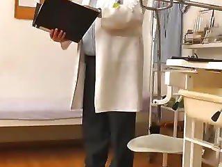 Hidden Camera In Gyno Doctor Exam Room