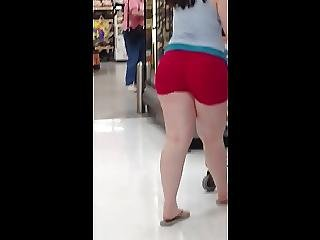 Art, Bbw, Butt, Chunky, Shorts, Voyeur