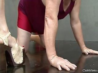 Ball Rupturing Ballerina - Bijou Steal
