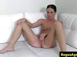 Amateur Office Euro Auditions With Fucking