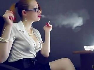 Ks Smoking With Glasses