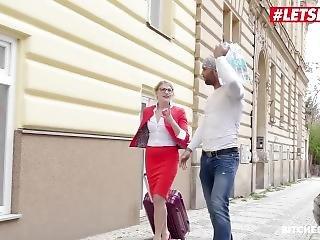 Letsdoeit - Kinky Tourist Sex By Big Cock Czech Stud