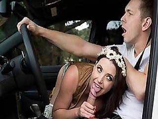 Angela White Blowjob Markus Duprees Cock For A Free Ride