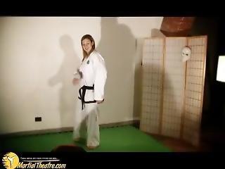 Taekwondo Girl Vs Man