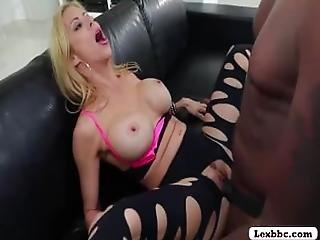 Alexis Fawx Enjoys Black Monster Cock