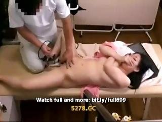 Japanese Housewife Fucked In Massage Room 1