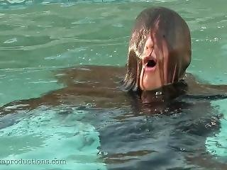Victoria Pool, Hair Over Face Drowning
