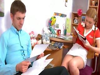 Teacher Ass Copulated Her 18yo Student