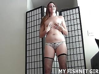 Let Me Put On My Fishnets And I Will Jerk You Off Joi