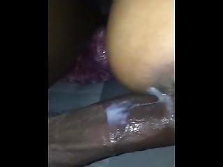 Creampie Cuban Gets Cumshot On Ass In Car