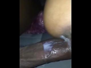 Creampie Cuban Gets Cumshot On Ass In Car