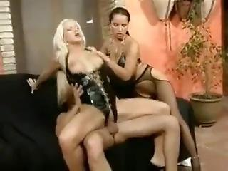 Stacy Silver And Laura Lion Latex Threesome