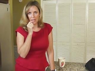 Stepson With Unreal Big Cock Cums Inside His Shameless Mature Stepmom