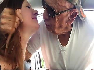 Milf Dogging With Old Man - Kissed And Sucked