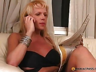Picking His Finger In Her Soft Anal