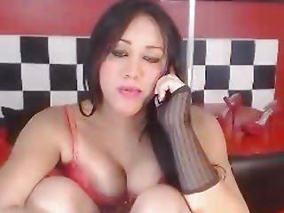 Aziatisch, Kont, Dikke Tiet, Ladyboy, Masturbatie, Poes, Schemale, Tgirl, Transsexueel, Transsexueel