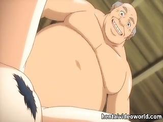 Old Guy Fucks Bigtit Cartoon Girl In Both Holes