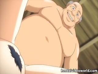 Old Guy Fucks Bigtit Cartoon Girl In Both Holes
