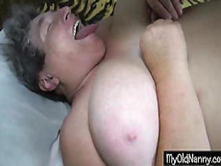 Playful Granny Got Teen Lover