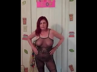 Redhot Redhead Show 7-12-2017 (part 1 Lingerie Photoshoot)