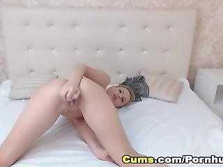 Sexy Naughty Babe Strip And Masturbate