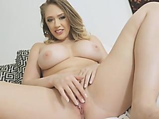 Big Juggs Blondie Stepmom Showed Stepson Hot To Masturbate