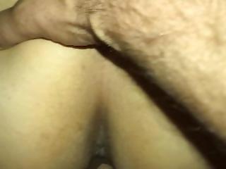 røv, stor røv, krem, creampie, sæd, fed, fisse