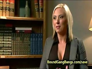 Huge Tits Blonde Double Penetration Fuck