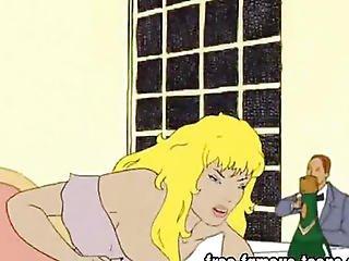 Anime, Blonde, Cartoon, Comic, Fucking, Hentai, Seduced, Toon