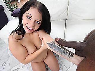 Sweetie Babe Madelyn Monroe Getting A Big Dark Cock
